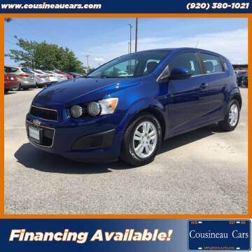 2013 Chevrolet Sonic for sale at CousineauCars.com in Appleton WI