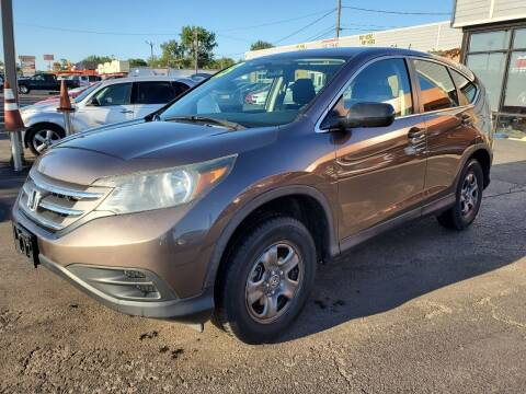 2013 Honda CR-V for sale at North Chicago Car Sales Inc in Waukegan IL