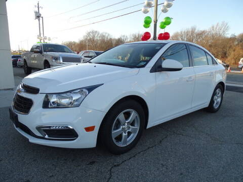 2016 Chevrolet Cruze Limited for sale at KING RICHARDS AUTO CENTER in East Providence RI