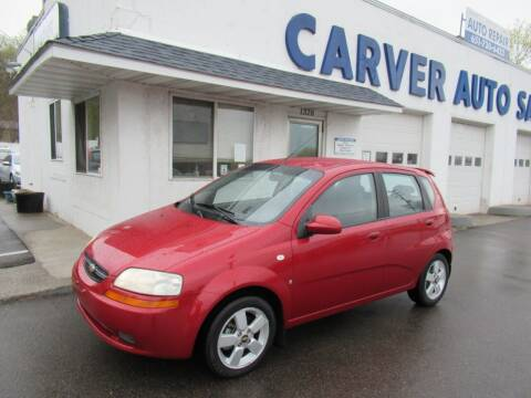 2008 Chevrolet Aveo for sale at Carver Auto Sales in Saint Paul MN