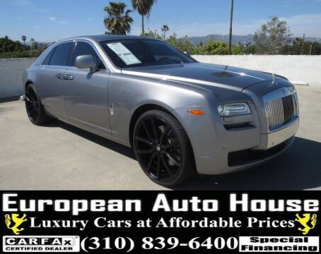 2010 Rolls-Royce Ghost for sale at European Auto House in Los Angeles CA