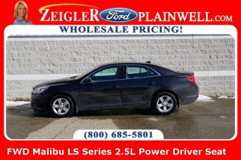 2014 Chevrolet Malibu for sale at Zeigler Ford of Plainwell- Jeff Bishop in Plainwell MI