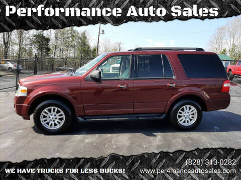 2012 Ford Expedition for sale at Performance Auto Sales in Hickory NC