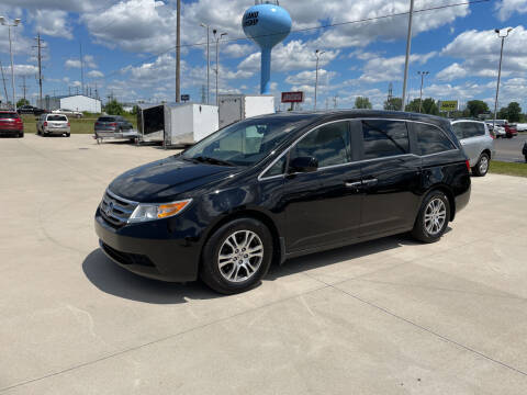 2011 Honda Odyssey for sale at EUROPEAN AUTOHAUS in Holland MI