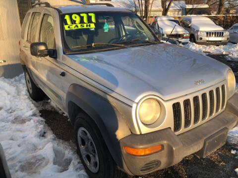 2002 Jeep Liberty for sale at Klein on Vine in Cincinnati OH