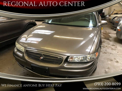 2003 Buick Regal for sale at REGIONAL AUTO CENTER in Stafford VA