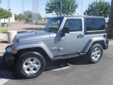 2015 Jeep Wrangler for sale at J & E Auto Sales in Phoenix AZ