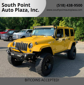 2015 Jeep Wrangler Unlimited for sale at South Point Auto Plaza, Inc. in Albany NY