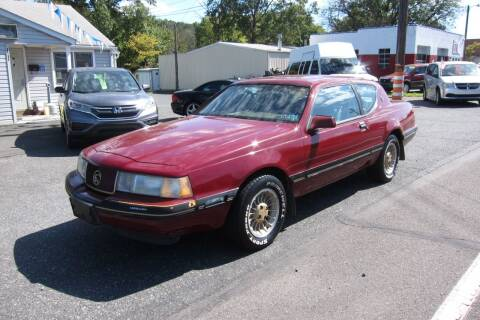 1987 Mercury Cougar for sale at K & R Auto Sales,Inc in Quakertown PA