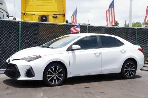 2018 Toyota Corolla for sale at MATRIX AUTO SALES INC in Miami FL
