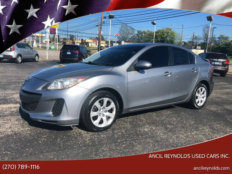2013 Mazda MAZDA3 for sale at Ancil Reynolds Used Cars Inc. in Campbellsville KY