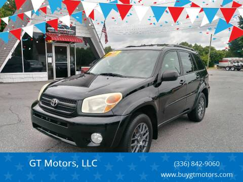 2004 Toyota RAV4 for sale at GT Motors, LLC in Elkin NC