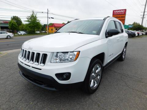 2013 Jeep Compass for sale at Cars 4 Less in Manassas VA