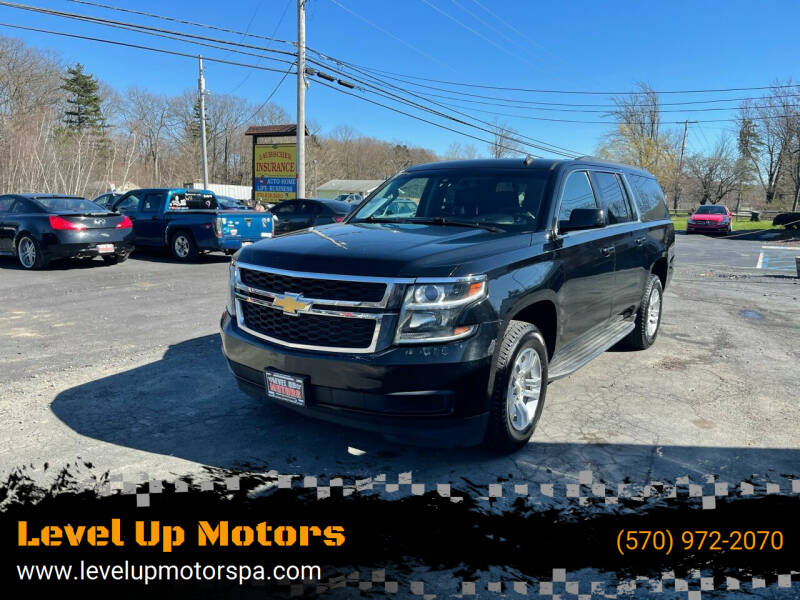 2015 Chevrolet Suburban for sale at Level Up Motors in Tobyhanna PA