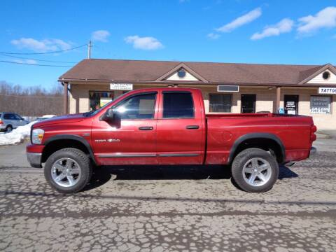 2007 Dodge Ram Pickup 1500 for sale at On The Road Again Auto Sales in Lake Ariel PA