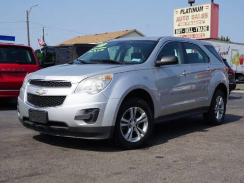 2011 Chevrolet Equinox for sale at PLATINUM AUTO SALES in Dearborn MI