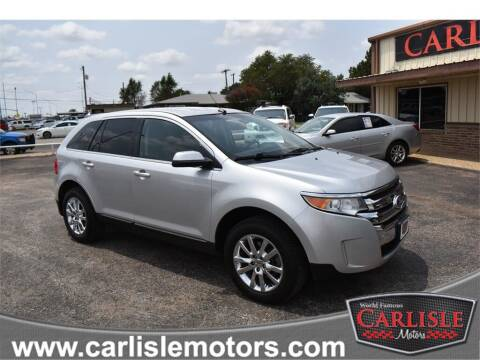 2013 Ford Edge for sale at Carlisle Motors in Lubbock TX