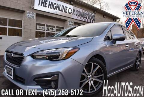2018 Subaru Impreza for sale at The Highline Car Connection in Waterbury CT