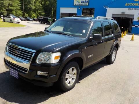 2008 Ford Explorer for sale at RTE 123 Village Auto Sales Inc. in Attleboro MA