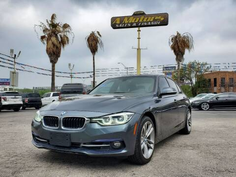 2016 BMW 3 Series for sale at A MOTORS SALES AND FINANCE in San Antonio TX