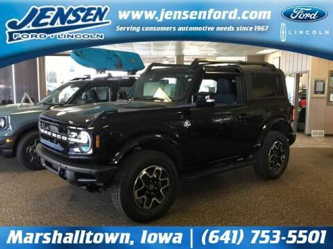 2021 Ford Bronco for sale at JENSEN FORD LINCOLN MERCURY in Marshalltown IA