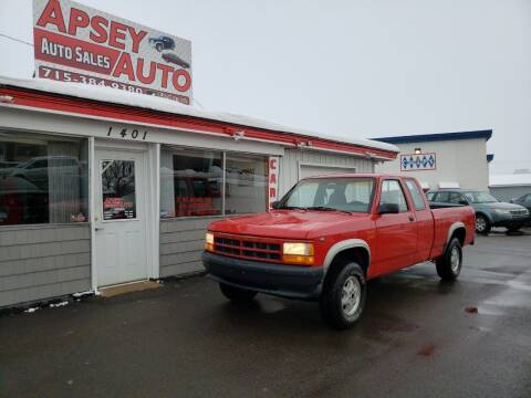 1995 Dodge Dakota for sale at Apsey Auto in Marshfield WI