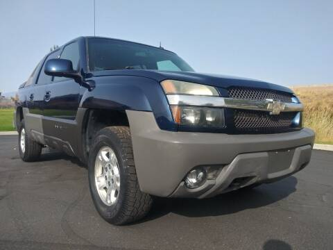 2002 Chevrolet Avalanche for sale at AUTOMOTIVE SOLUTIONS in Salt Lake City UT