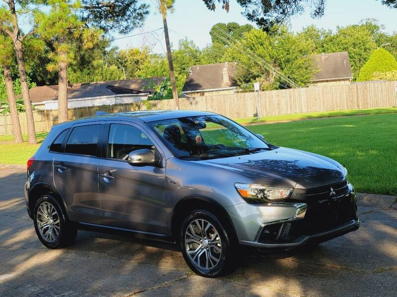 2018 Mitsubishi Outlander Sport for sale at MOTORSPORTS IMPORTS in Houston TX