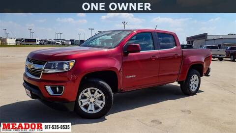 2017 Chevrolet Colorado for sale at Meador Dodge Chrysler Jeep RAM in Fort Worth TX