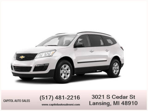2014 Chevrolet Traverse for sale at Capitol Auto Sales in Lansing MI