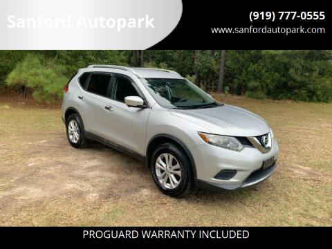 2015 Nissan Rogue for sale at Sanford Autopark in Sanford NC