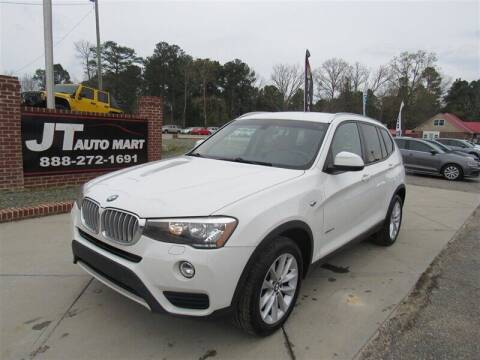 2016 BMW X3 for sale at J T Auto Group in Sanford NC