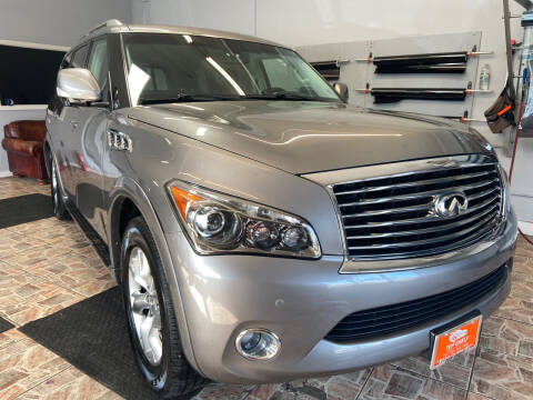 2012 Infiniti QX56 for sale at TOP SHELF AUTOMOTIVE in Newark NJ