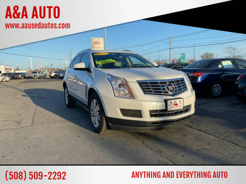 2013 Cadillac SRX for sale at A&A AUTO in Fairhaven MA