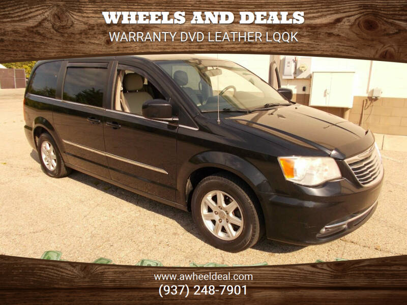 2013 Chrysler Town and Country for sale at Wheels and Deals in New Lebanon OH