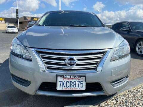 2014 Nissan Sentra for sale at Global Auto Group in Fontana CA