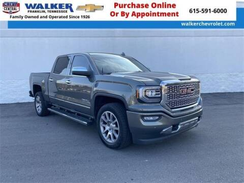 2017 GMC Sierra 1500 for sale at WALKER CHEVROLET in Franklin TN
