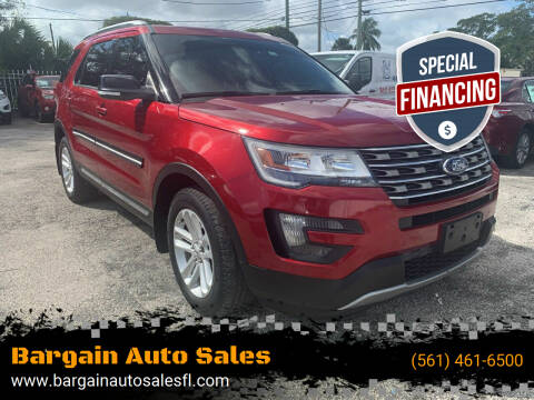 2016 Ford Explorer for sale at Bargain Auto Sales in West Palm Beach FL