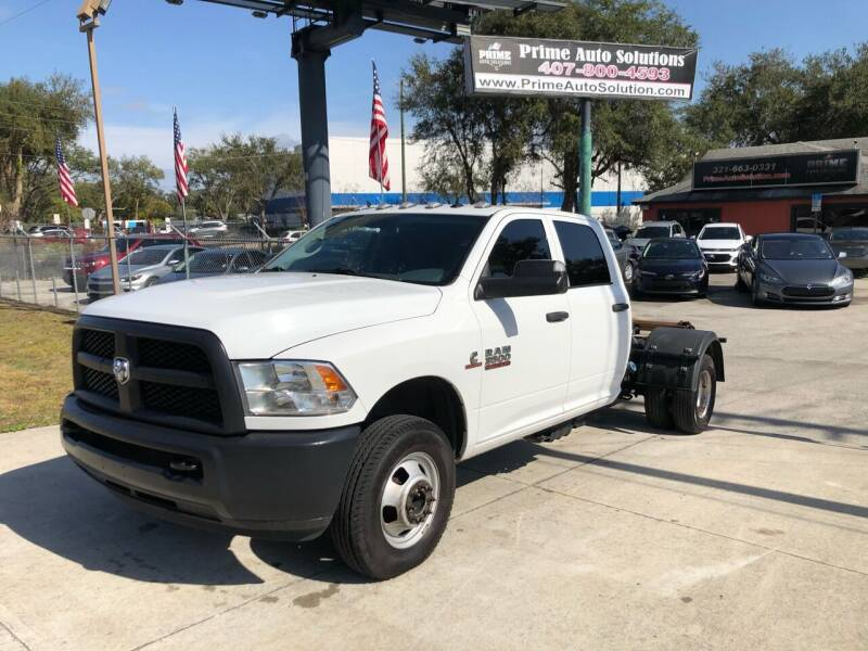 2018 RAM Ram Chassis 3500 for sale at Prime Auto Solutions in Orlando FL