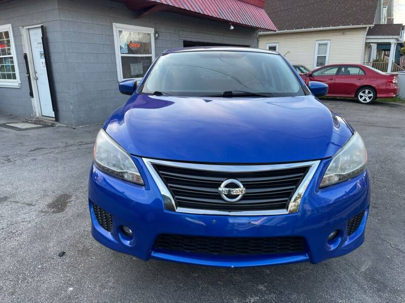 2013 Nissan Sentra for sale at Sphinx Auto Sales LLC in Milwaukee WI