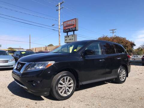2014 Nissan Pathfinder for sale at Autohaus of Greensboro in Greensboro NC