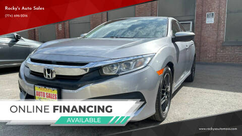 2016 Honda Civic for sale at Rocky's Auto Sales in Worcester MA