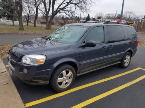 2008 Chevrolet Uplander for sale at Capital Fleet  & Remarketing  Auto Finance in Columbia Heights MN