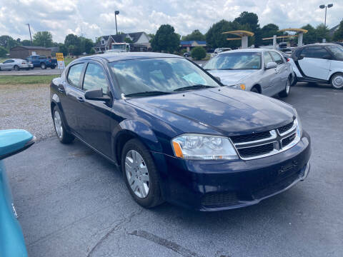 2014 Dodge Avenger for sale at McCully's Automotive - Under $10,000 in Benton KY