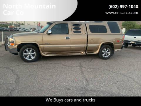 2000 Chevrolet Silverado 1500 for sale at North Mountain Car Co in Phoenix AZ