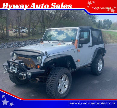 2008 Jeep Wrangler for sale at Hyway Auto Sales in Lumberton NJ