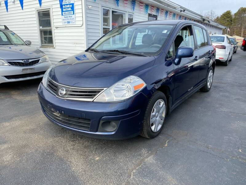 2012 Nissan Versa for sale at Plaistow Auto Group in Plaistow NH