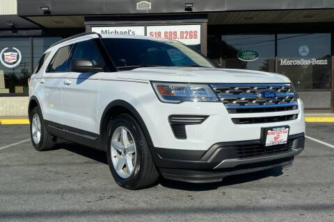 2018 Ford Explorer for sale at Michaels Auto Plaza in East Greenbush NY