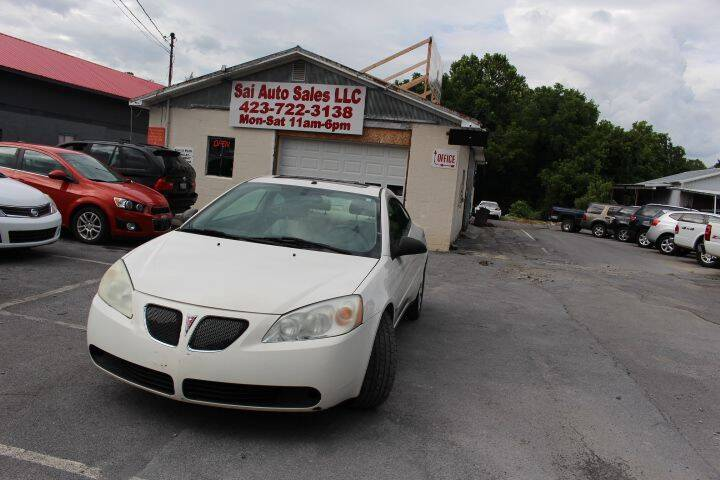 2006 Pontiac G6 for sale at SAI Auto Sales - Used Cars in Johnson City TN