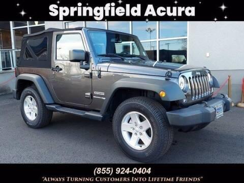 2018 Jeep Wrangler JK for sale at SPRINGFIELD ACURA in Springfield NJ